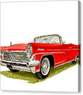 1959 Continental Convertible Canvas Print