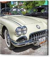 1959 Corvette Canvas Print