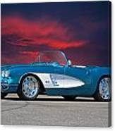 1959 Corvette Fuel Injected Canvas Print