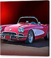 1959 Corvette Roadster 2 Canvas Print