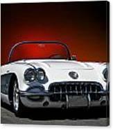 1959 Corvette Roadster I Canvas Print