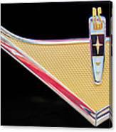 1959 Desoto Adventurer Emblem Canvas Print