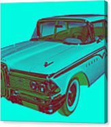 1959 Edsel Ford Ranger Modern Popart Canvas Print