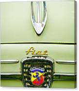 1959 Fiat 600 Derivazione 750 Abarth Hood Ornament Canvas Print