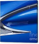 Blue Galaxie Canvas Print