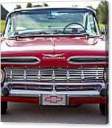 1959 Impala Hardtop Sport Coupe Canvas Print