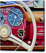 1959 Mercedes-benz 190 Sl Steering Wheel Canvas Print