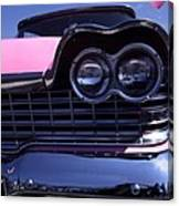 1959 Pink Plymouth Fury With Balloon Canvas Print