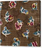French Fabrics First Half Of The Nineteenth Century 1800 Canvas Print