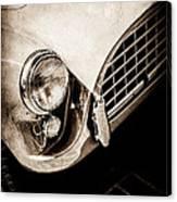 1960 Ac Aceca Grille Emblem -0058s Canvas Print
