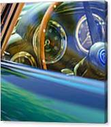 1960 Aston Martin Db4 Series II Steering Wheel Canvas Print