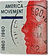 1960 Boys' Clubs Of America Movement Stamp Canvas Print