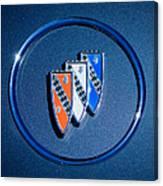 1960 Buick Lesabre Series 4400 Convertible Emblem Canvas Print