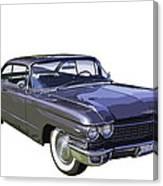 1960 Cadillac - Classic Luxury Car Canvas Print