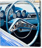 1960 Chevrolet Bel Air 4 012315 Canvas Print