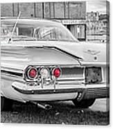 1960 Chevy Impala   7d08509 Canvas Print