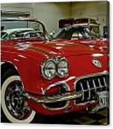 1960 Corvette Canvas Print