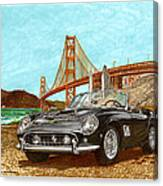 1960 Ferrari 250 California G T Canvas Print