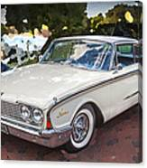 1960 Ford Starliner Canvas Print