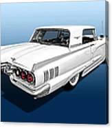 1960 Ford Thunderbird Canvas Print
