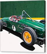 1960 Lotus 18 Fj Canvas Print