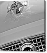 1960 Nash Metropolitan Hood Ornament Canvas Print