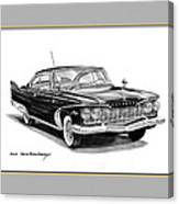 Plymouth Fury Canvas Print