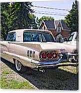 1960 Thunderbird 2 Canvas Print
