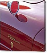1961 Alfa Romeo Giulietta Sprint Speciale Emblem Canvas Print