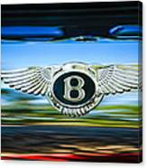 1961 Bentley S2 Continental - Flying Spur - Emblem Canvas Print