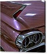 1961 Cadillac Coupe 62 Taillight Canvas Print
