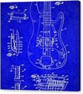 1961 Fender Guitar Canvas Print