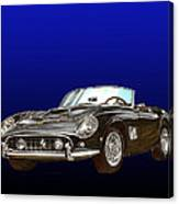 1961 Ferrari 250 G T California Canvas Print