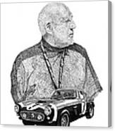 Sir Stirling Moss 1961 Ferrari G T 250 Canvas Print