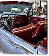 1961 Lincoln Continental Interior Canvas Print