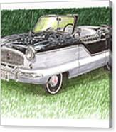1961 Nash Metro Convertible Canvas Print