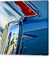 1962 Cadillac Deville Taillight Canvas Print