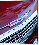 1962 Chevrolet Impala Ss Grille Canvas Print