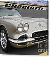 1962 Chevy Corvette Canvas Print