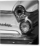 1962 Dodge Dart Taillight Emblem Canvas Print