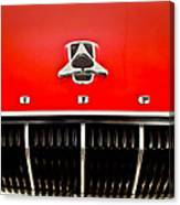 1962 Dodge Polara 500 Emblem Canvas Print
