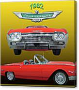 1962 Ford T-bird Sport Canvas Print