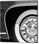 1962 Ghia L6.5 Coupe Wheel Emblem Canvas Print