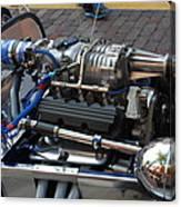 1962 V6 Lotus Engine Canvas Print
