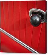 1963 Chevrolet Corvette Split Window Door Latch -185c Canvas Print