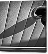 1963 Chevrolet Corvette Split Window Door Latch -295bw Canvas Print