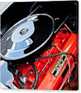 1963 Chevrolet Corvette Split Window Engine -147c Canvas Print