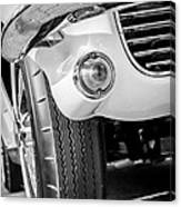 1963 Chevrolet Corvette Split Window Grille -209bw Canvas Print