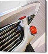1963 Chevrolet Corvette Split Window Grille -221c Canvas Print