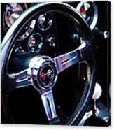 1963 Chevy Corvette Stingray Steering Wheel Canvas Print